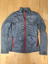 Mens The NORTH FACE Primaloft Run Jog Jacket Small Gray