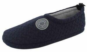 DE FONSECA SCARPETTE, PANTOFOLE invernali UOMO mod AOSTA I M653 BLU  slippers