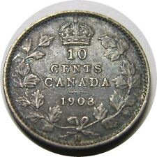 elf Canada 10 Cents 1903 H  Edward VII