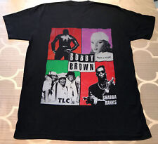 Rare Vtg Bobby Brown The Get Away Tour 1993 T-Shirt Excellent Limited Edition