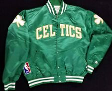 vtg 90's Boston Celtics team Jacket STARTER USA sz Large Stitched