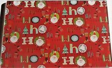 "CHRISTMAS Glass Cutting Board  HO HO HO  11 3/4"" X 7 3/4"""