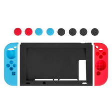 Silicone Protective Cover Case with 8 Thumb Caps for Nintendo Switch & Joy-Con
