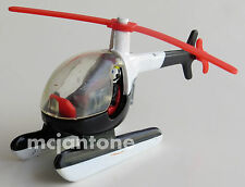LOOSE Jack in the Box 1990s Vehicles BLACK HELICOPTER Copter Pilot CAKE TOPPER