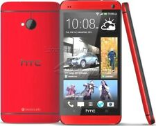 Red Unlocked HTC One M7 Android GSM 3G Quad-core WIFI  4MP 32GB Phone