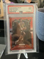 2019-20 Panini Prizm: #256 Cam Reddish Ruby Wave Rookie RC PSA 9 MINT