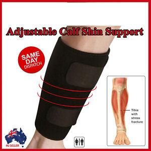 Compression Calf Brace Shin Splint Sleeve Support Lower Leg Wrap Muscle Pain