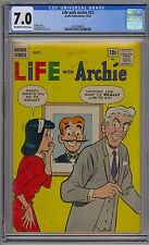 Life With Archie #23 CGC 7.0 FN/VF OwWp 1963 RARE Riverdale Veronica & Mr. Lodge