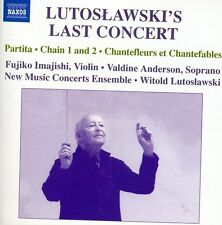 Witold Lutoslawski, - Lutoslawskis Last Concert [New CD]