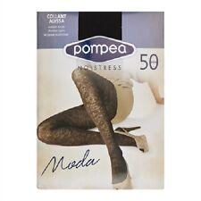 POMPEA - Collant Alyssa 50 den calze donna sexy nero 3/4 - M L