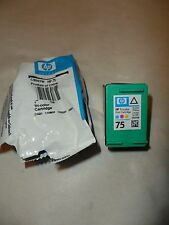 NEW HP 75 Tri-Color Ink Cartridge GENUINE HP CB337W SHIPS FREE TO USA!