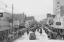 1950 Del Rio Texas TX downtown street parade photo CHOICE 5x7 or request 8x10 or