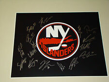 2015/16 New York Islanders Team Signed 16x20 Photo 16 Autograph Hockey Tavares