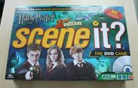 Harry Potter Scene It? DVD Board Game 2nd Edition Complete VGC