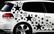 93 Sterne Star Auto Aufkleber Set Sticker Tuning Shirt Stylin WandtattooTribel