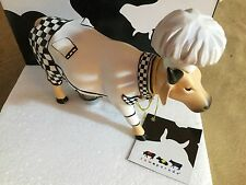 "Cow Parade Figurine "" Chef Cow "" ( # 7772 - Retired )"