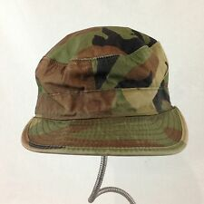 Camouflage Cap Hat Genuine US Military Army Woodland Ear Flaps 7 1/8