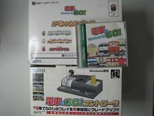 RARE! Densha De Go + USB controller set for windows 95/Me Japan