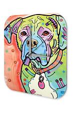 Wall Clock Dog Decoration Boxer Printed Acryl Acrylglass