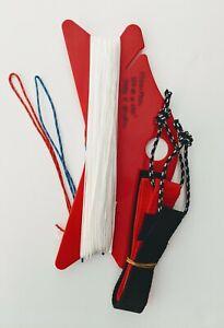 Flexifoil Spectra Long 150# x 120' - Dual Line set - Sleeved, Line White, Straps