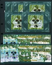 PAPUA NEW GUINEA 2008 Asaro Mudmen Legend Sheets MNH x 10(PAP198