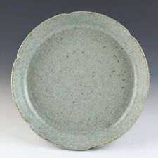 Antique Chinese Ru Kiln Porcelain Plate