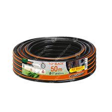 """TUBO IRRIGAZIONE CLABER 9046 TOP BLACK 50 MT 1"""" (25-33mm) GIARDINO ORTO GOMMA"""