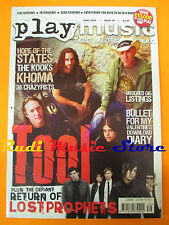 rivista PLAY MUSIC Magazine 39/2006 Tool Lostprophets Khoma Biffy Clyro  No cd