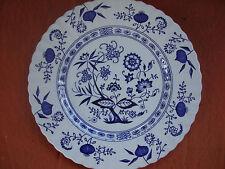 "Great Antique Porcelain D&G. Meakin Blue Nordic England Plate 10"" across"