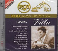 Federico Villa 100 Anos de Musica 2CD New Nuevo sealed