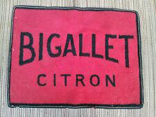 ANCIEN TAPIS DE CARTE DE BISTROT BIGALLET,  DECO VINTAGE