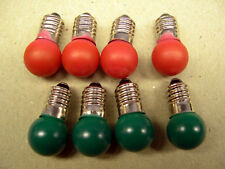 4 Red+4 Green Bulbs American Flyer Switch Controller