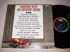Country Hits By Country Stars LP Capitol T1912 1963 Wanda Jackson Glen Campbell