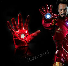 The Avengers Iron Man Gauntlet Glove LED Light Left Right Hand  In BOX  cool