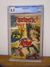 Fantastic Four #71 CGC 5.5 Marvel Silver Age Comic