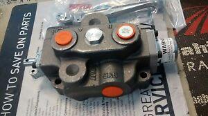 TS200BA HYDRAULIC Valve single spool Massey Ferguson Tractor