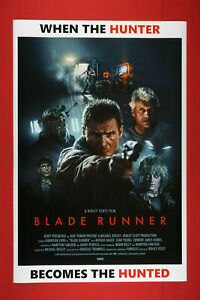 Blade Runner Harrison Ford Rutger Hauer Art Picture Poster 24X36 New  BLDR