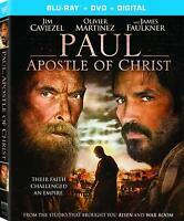 Paul Apostle of Christ (Blu-ray + DVD + Digital) NEW Sealed, Free Shipping