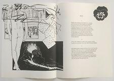 JOE BRAINARD lithograph 1967 IN MEMORY OF MY FEELINGS Frank O'Hara MOMA