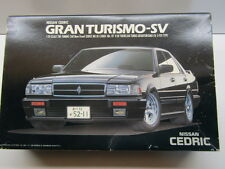 Aoshima 1/24 Scale Nissan Cedric Gran Turismo-Sv Model Kit # 50 New Motorisable