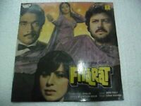 FITRAT USHA KHANNA 1986 sharon prabhakar RARE LP RECORD OST orig BOLLYWOOD VG+