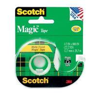 Scotch Magic Tape 1/2 Inch X 800 Inches 1 Each (Pack of 4)