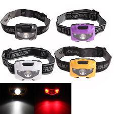 Mini 3W 4 Modes Headlamp Super Bright LED 400LM 60° Rotation Red+White Headlight