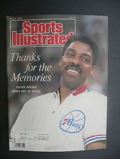 Sports Illustrated May 4, 1987 Dr J Julius Erving Sixers NBA NHL Montreal '87 A
