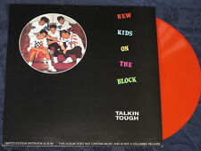 "New Kids on the Block NKOTB ""Talkin Tough"" Limited Red Vinyl LP Mint and Perfect"