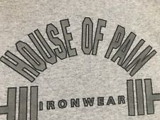 VTG.HOUSE OF PAIN IRONWEAR PUT SOME ATTITUDE ON YOUR WORKOUT GYM RARE T-Shirt XL
