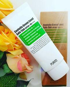 💥SALE💥ORIGINAL PURITO Centella Green Level Safe Sunscreen SPF50+ PA++++(UK)