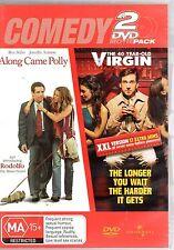 Along Came Polly  / 40 Year Old Virgin (DVD, 2006, 2-Disc Set) ..........H1