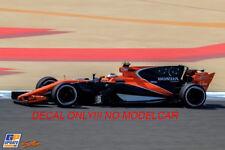 decal mclaren mcl32 Bahrein 17 Vandoorne Alonso STARS 1/43 F1 spark minichamps