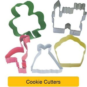 Shaped COOKIE CUTTERS - Various Themes - Baking Cake Biscuit Sandwich Toast